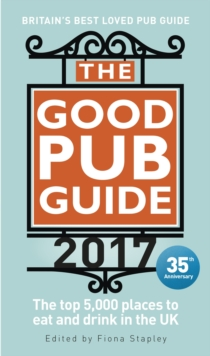The Good Pub Guide 2017, Paperback Book
