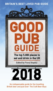 The Good Pub Guide 2018, Paperback Book