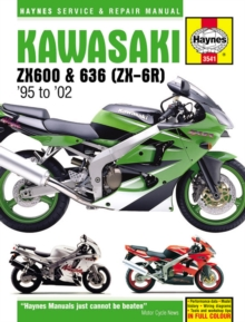 Kawasaki ZX-6R Ninja Service and Repair Manual, Paperback Book