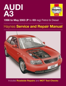 Audi A3 Petrol And Diesel Service And Repair Manual : 96-03, Paperback Book