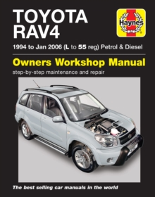 Toyota RAV4 Petrol & Diesel (94 - Jan 06) L to 55 : 94-06, Paperback / softback Book