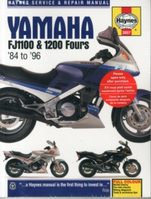 Yamaha FJ1100 & 1200 Fours Motorcycle Repair Manual : 84-96, Paperback Book