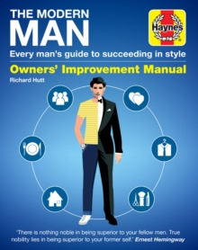 Modern Man Manual, Hardback Book