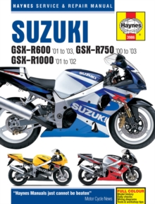 Suzuki GSX-R600, R750 & R1000 Service and Repair Manual, Paperback Book