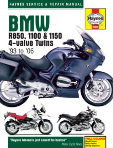 BMW R850, 1100 & 1150, Paperback / softback Book
