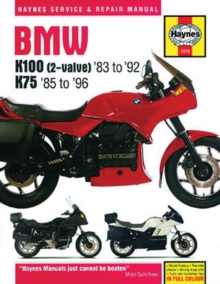 BMW K100 & 75, Paperback / softback Book