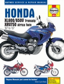 Honda Xl600/650, Paperback / softback Book