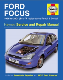 Ford Focus 98-01, Paperback Book