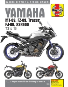 Yamaha Mt-09, Tracer And Xsr900 (13 - 16), Paperback / softback Book