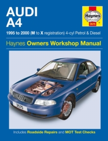 Audi A4 Owners Workshop Manual, Paperback Book