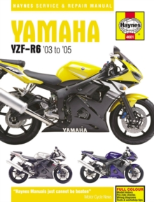 Yamaha YZF-R6 Service and Repair Manual : 2003-2005, Paperback Book