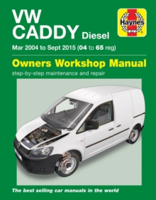 VW Caddy Diesel (Mar '04-Sept '15) 04 to 65, Paperback / softback Book
