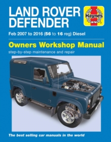 Land Rover Defender Diesel (Feb '07-'16) 56 - 16, Paperback Book