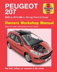 Peugeot 207 ('06 to '13) 06 to 09, Paperback / softback Book