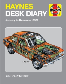 Haynes 2020 Desk Diary : January to December 2020, Hardback Book