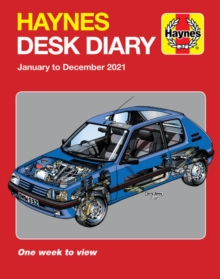 Haynes 2021 Desk Diary : January to December 2021, Diary Book