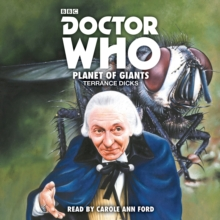 Doctor Who: Planet of Giants : 1st Doctor Novelisation, CD-Audio Book