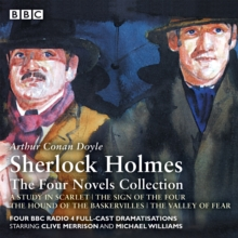 Sherlock Holmes: The Four Novels Collection, eAudiobook MP3 eaudioBook