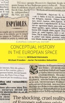 Conceptual History in the European Space, Hardback Book