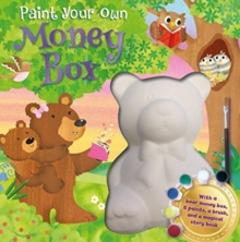 PAINT YOUR OWN MONEY BOX,  Book