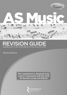 OCR AS Music Revision Guide Supplement, Paperback Book