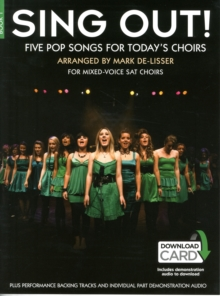 Sing Out] 5 Pop Songs For Today's Choirs - Book 1 (Book/Audio Download), Paperback Book