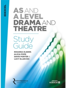 Edexcel AS and A Level Drama and Theatre Study Guide, Paperback / softback Book