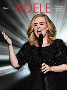 The Best of Adele (Easy Piano), Paperback / softback Book