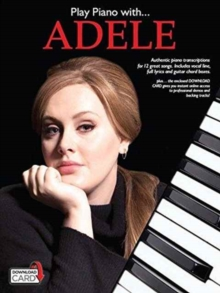 Play Piano With... Adele (Book/Audio Download), Paperback Book