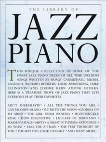 The Library Of Jazz Piano, Paperback Book