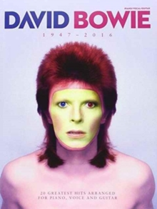 David Bowie 1947 - 2016, Paperback Book