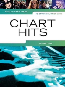 Really Easy Piano : Chart Hits, Paperback Book