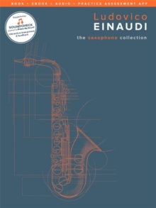 Ludovico Einaudi : The Saxophone Collection (Book/Online Media), Mixed media product Book