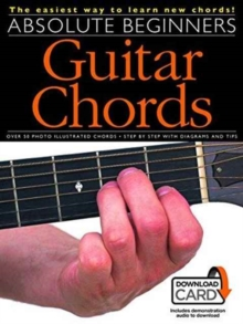 Absolute Beginners : Guitar Chords (Book/Download Card), Paperback / softback Book