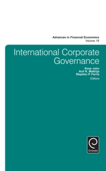 International Corporate Governance, Hardback Book