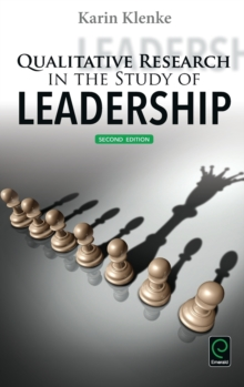 Qualitative Research in the Study of Leadership, Hardback Book