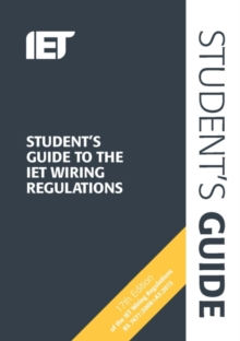 Student's Guide to the IET Wiring Regulations, Spiral bound Book