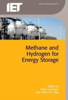 Methane and Hydrogen for Energy Storage, Hardback Book