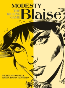 Modesty Blaise - The Killing Game, Paperback Book