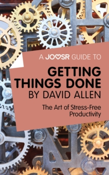 Getting Things Done The Art Of Stress- Productivity Epub