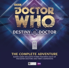 Destiny of the Doctor: The Complete Adventure, CD-Audio Book