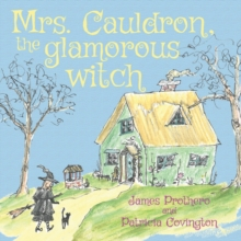 Mrs. Cauldron, the Glamorous Witch, Paperback Book