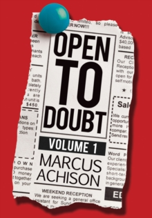 Open To Doubt : Volume 1, Paperback Book