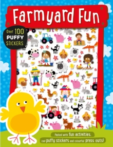 Farmyard Fun Puffy Sticker Book, Paperback Book