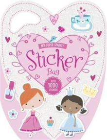 My Super Sparkly Sticker Bag, Paperback Book