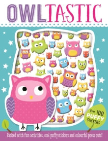Owltastic Puffy Sticker Book, Paperback Book