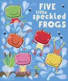 FIVE LITTLE SPECKLED FROGS, Novelty book Book