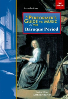 A Performer's Guide to Music of the Baroque Period : Second edition, Sheet music Book