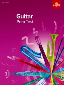 Guitar Prep Test 2019, Sheet music Book