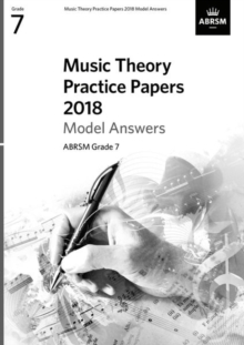 Music Theory Practice Papers 2018 Model Answers, ABRSM Grade 7, Sheet music Book